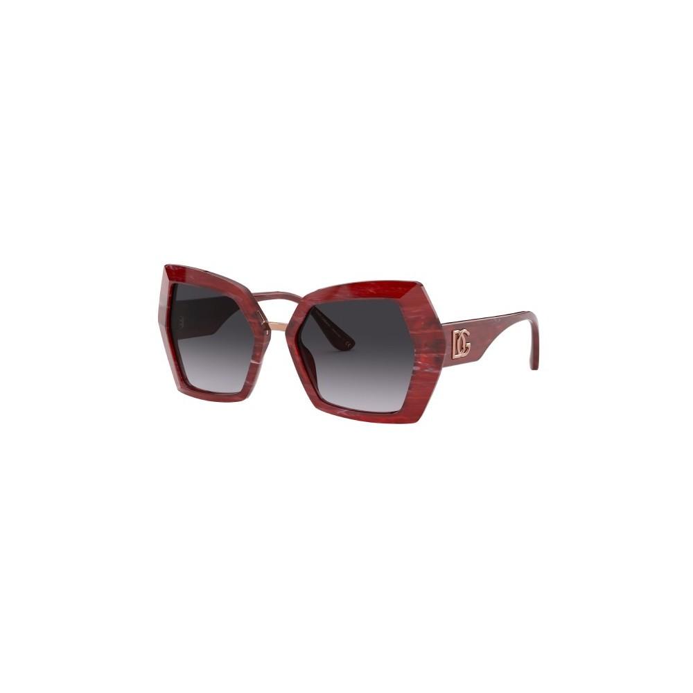Okulary przeciwsłoneczne D&G czerwona oprawka